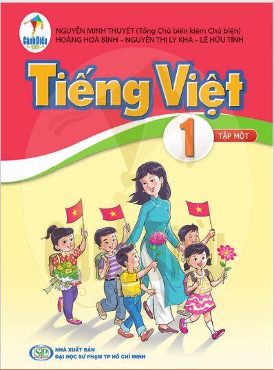 Giới thiệu Sách Tiếng Việt Lớp 1 Tập 1 Bộ sách Cánh Diều