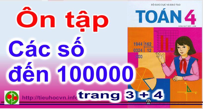 Bài giảng Toán 4 Trang 4 Ôn tập các số đến 100 000 | 4th Grade Mathematics