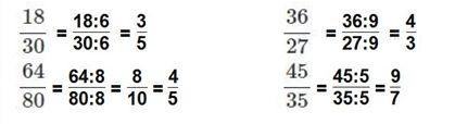 Vở bài tập Toán 5 Bài 2 Trang 4 Ôn tập Tính chất cơ bản của phân số
