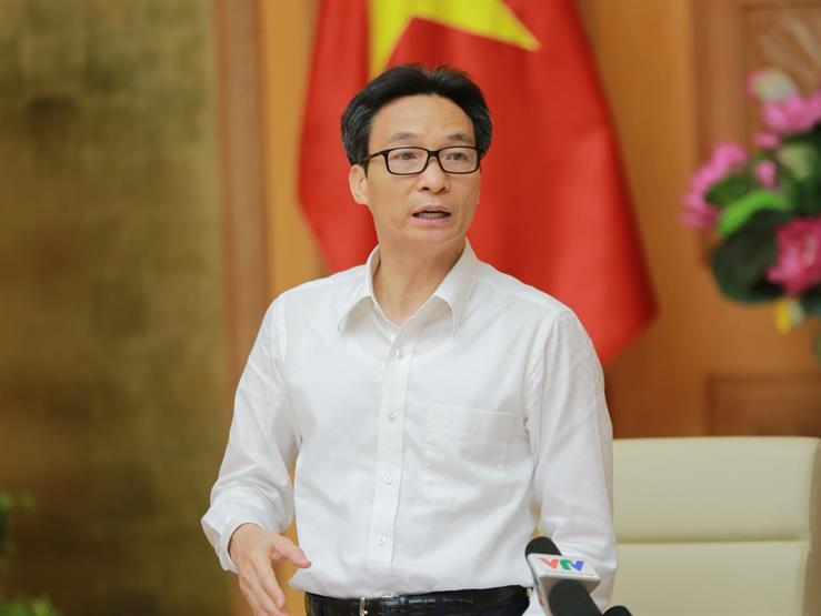 Phó Thủ tướng Vũ Đức Đam phát biểu chỉ đạo tại phiên họp