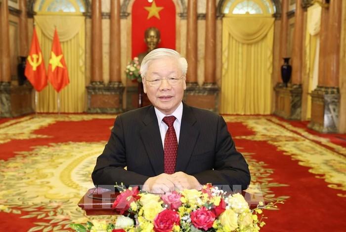 Tổng Bí thư, Chủ tịch nước Nguyễn Phú Trọng. Ảnh: Trí Dũng - TTXVN