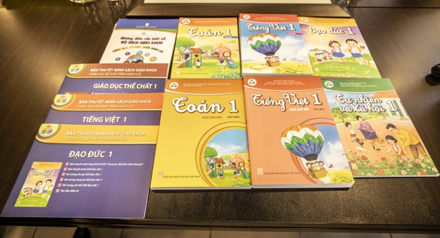 """Tập huấn dạy bộ sách Lớp 1 """"Cùng học và phát triển năng lực"""""""